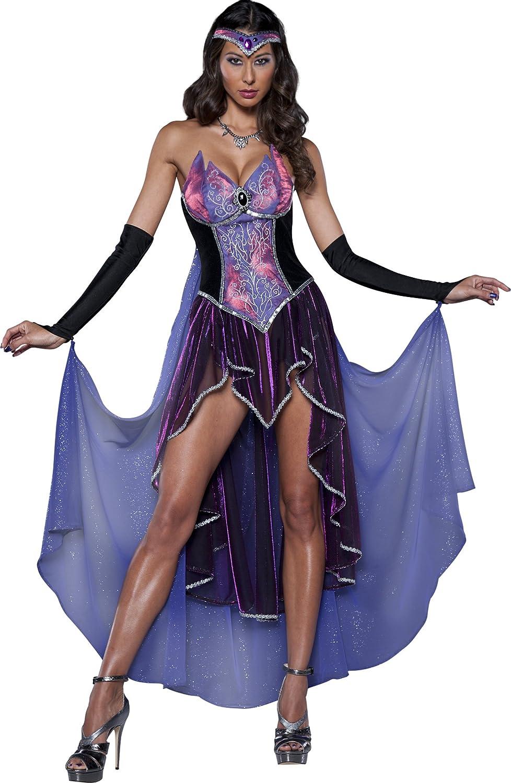 Disfraz de hechicera deluxe para mujer: Amazon.es: Juguetes y juegos