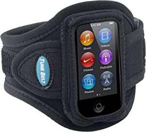 Tune Belt Armband for iPod nano 7th Generation (7G) - AB77 [Black]