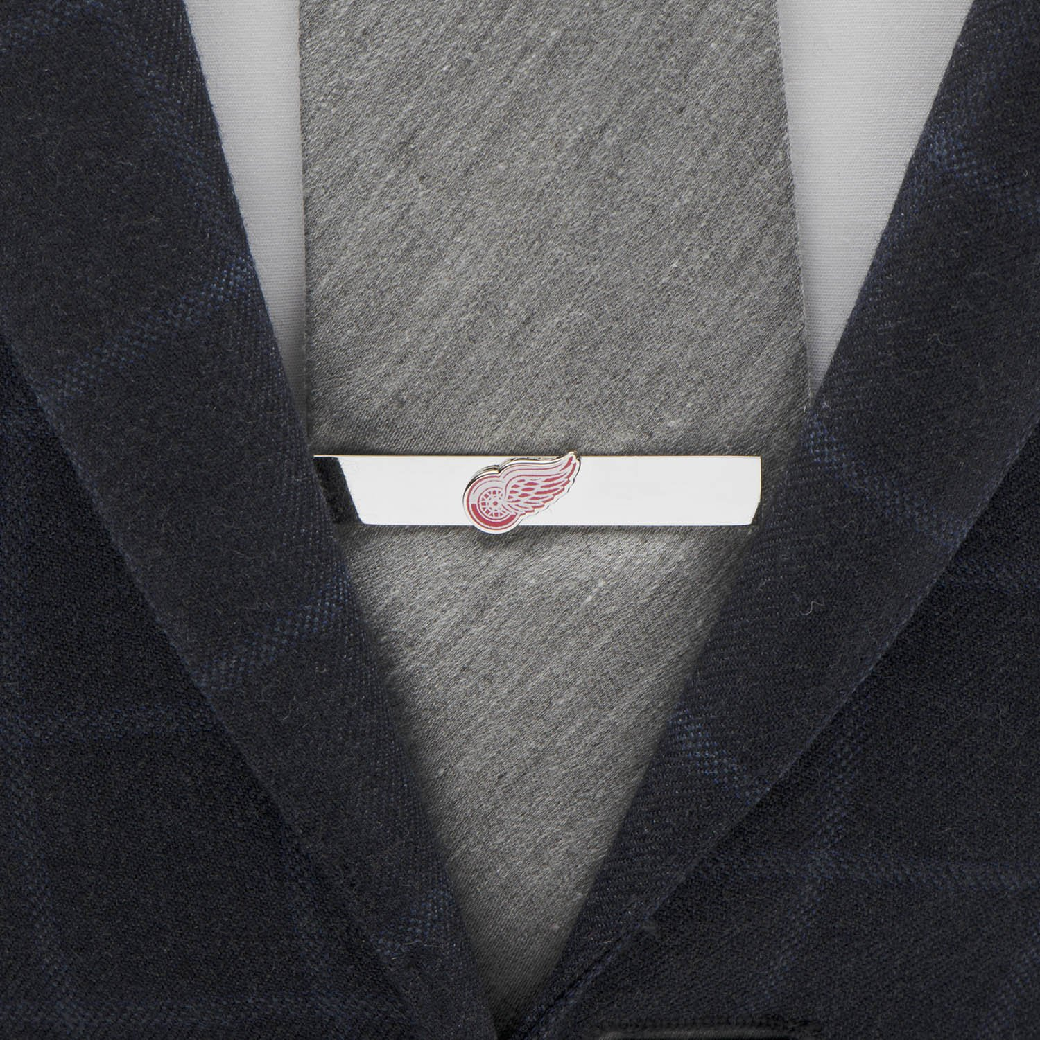 NHL Detroit Red Wings Tie Bar, Officially Licensed by Cufflinks (Image #2)