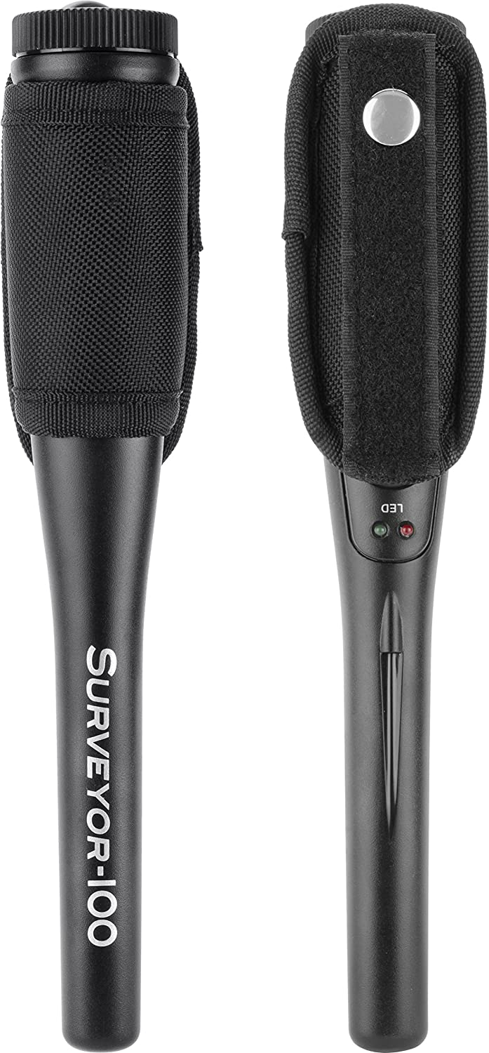 Amazon.com: BARSKA Surveyor-100 Handheld Metal Detector, Black: Sports & Outdoors
