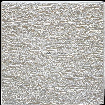 Polystyrene Ceiling Tiles Terra (Pack 72 Pcs) 18 Sqm White