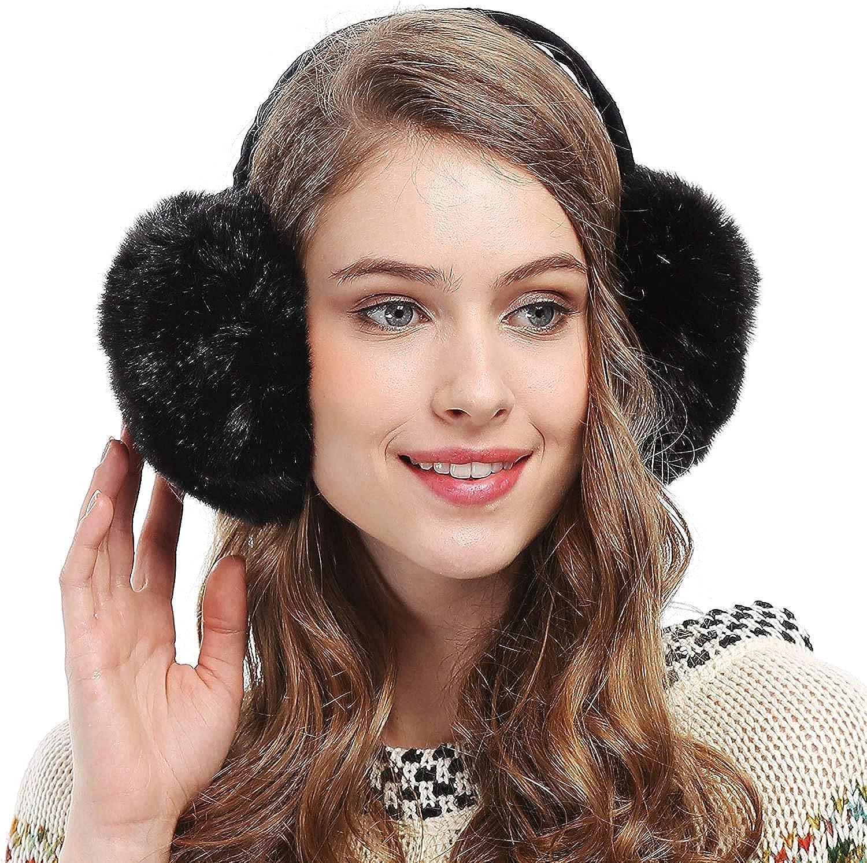 Faux Fur Headband *** READY TO SHIP *** Faux Fur Ear Warmer Earwarmer
