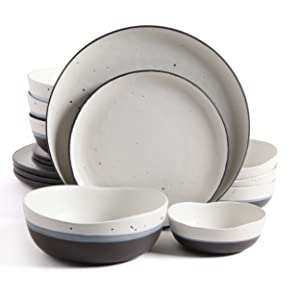 Gibson Elite 101984.16RM Rhinebeck 16 Piece Dinnerware Set