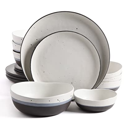 Gibson Elite 16 Piece Rhinebeck Dinnerware Set  sc 1 st  Amazon.com & Amazon.com | Gibson Elite 16 Piece Rhinebeck Dinnerware Set ...