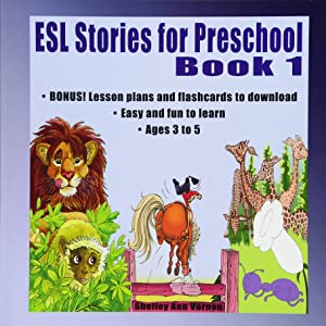 ESL Stories for Preschool: Book 1