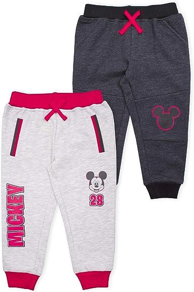 Mickey Mouse Little Boys Toddler Pant /& Long Sleeve Shirt Fleece Set