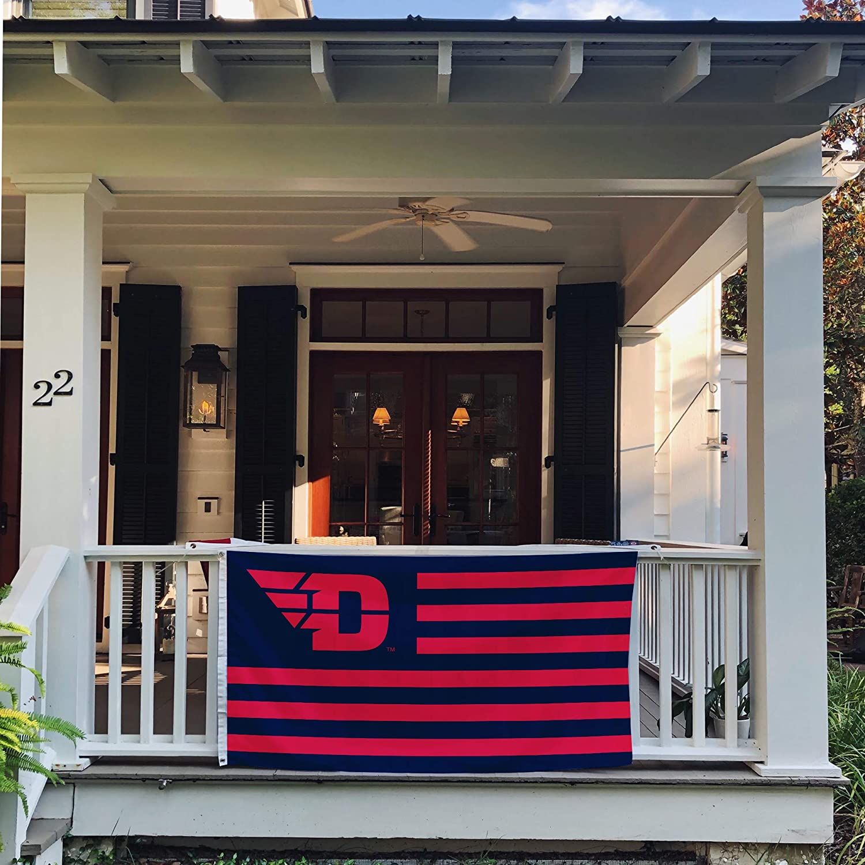 Nation a Desert Cactus University of Dayton Flyers NCAA 100/% Polyester Indoor Outdoor 3 feet x 5 feet Flag