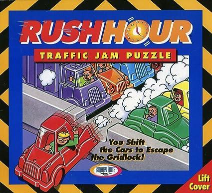 amazon com binary arts rush hour traffic jam puzzle brain