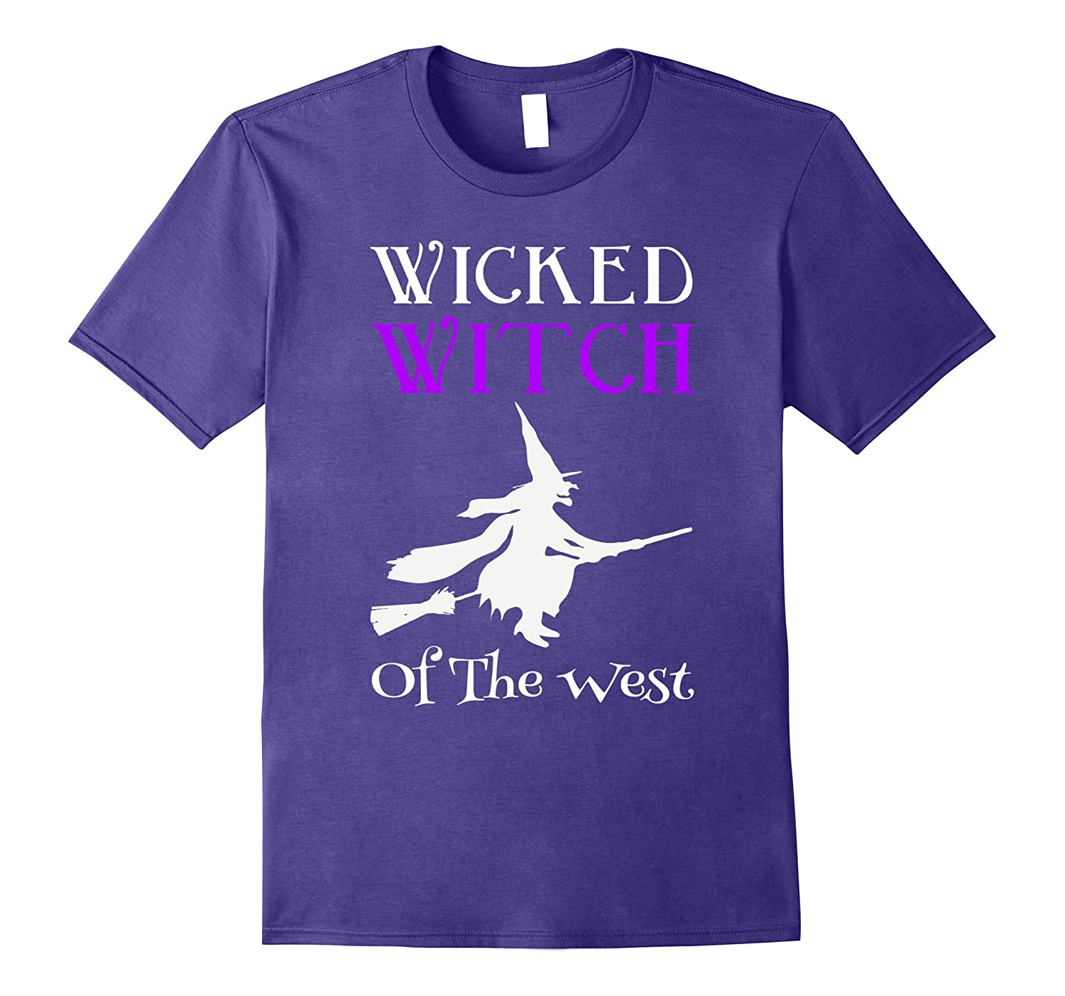 Wicked Witch Of The West Halloween T-Shirt-TJ