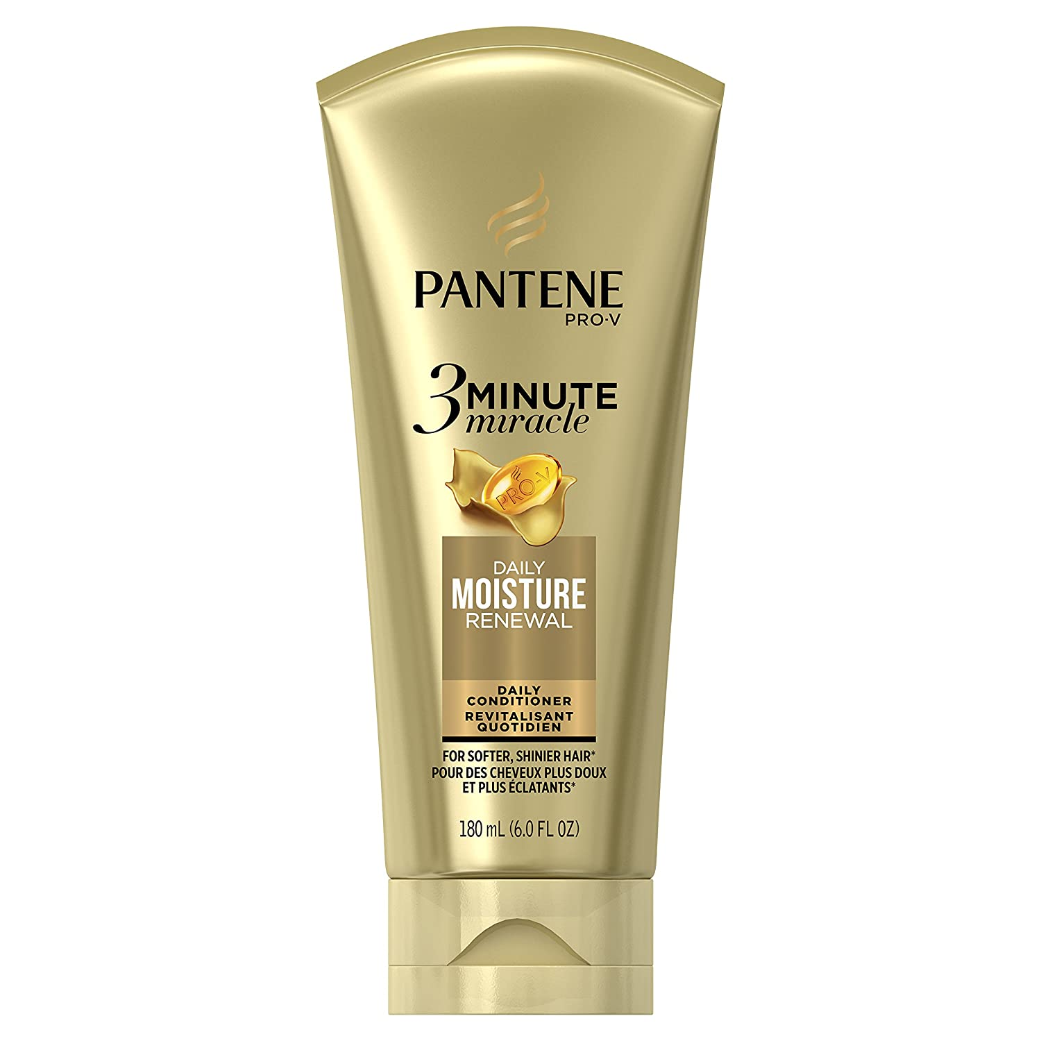 Pantene Pantene Daily Moisture Renewal 3 Minute Miracle Daily Conditioner, 6.0 fl oz, 6 Fl Oz