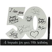 CREOFANT - Libro de Invitados de 50 cumpleaños