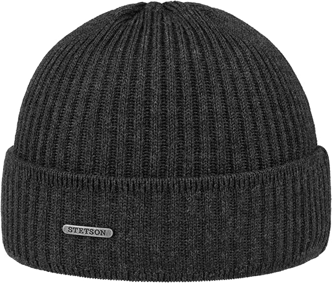 Stetson Gorro Parkman Mujer/Hombre - Made in Germany Gorros con ...