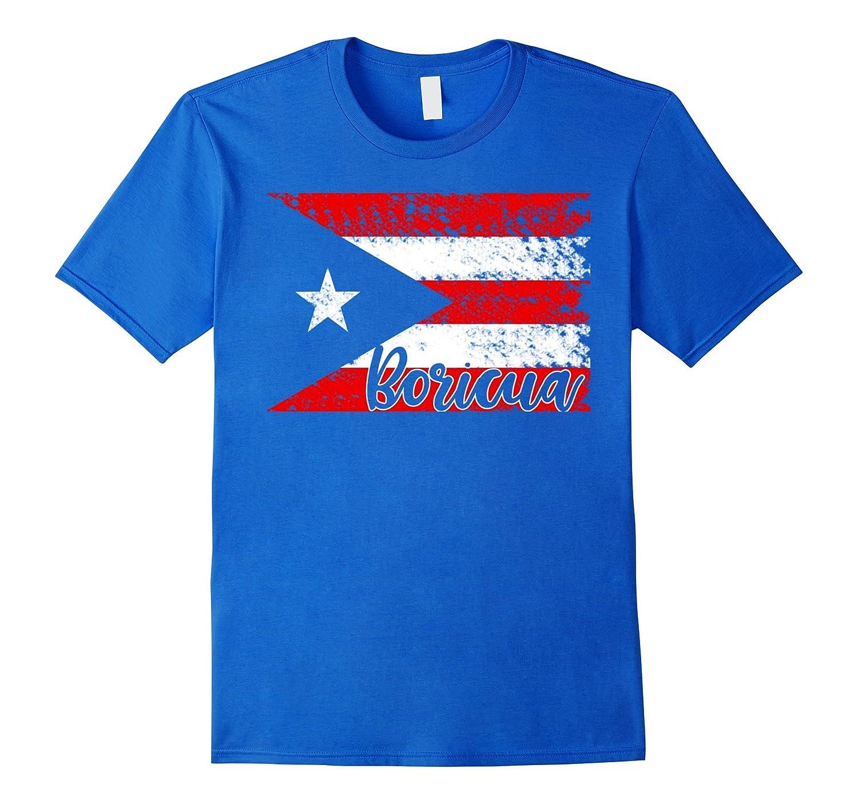 Boricua Flag Puerto Rican Pride Nuyorican T-Shirt-TH