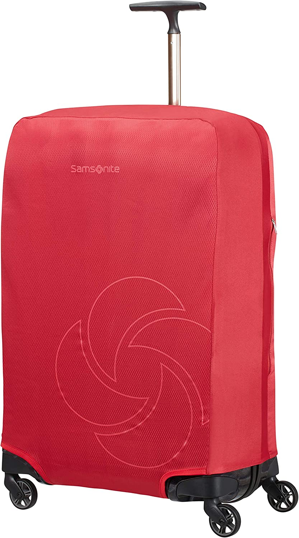 Samsonite Global Travel Accessories - Funda para Maleta Plegable, M, Rojo (Red)
