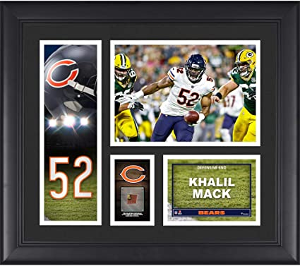 6b91a165b Image Unavailable. Image not available for. Color  Khalil Mack Chicago Bears  ...
