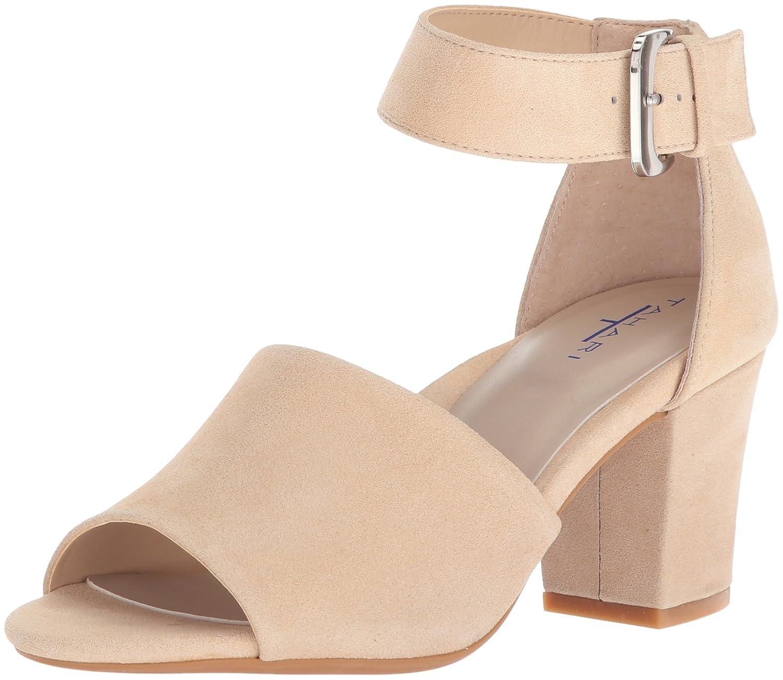 Tahari Women's Tt-Pennie Heeled Sandal B0773CG1TH 8.5 B(M) US|Nude