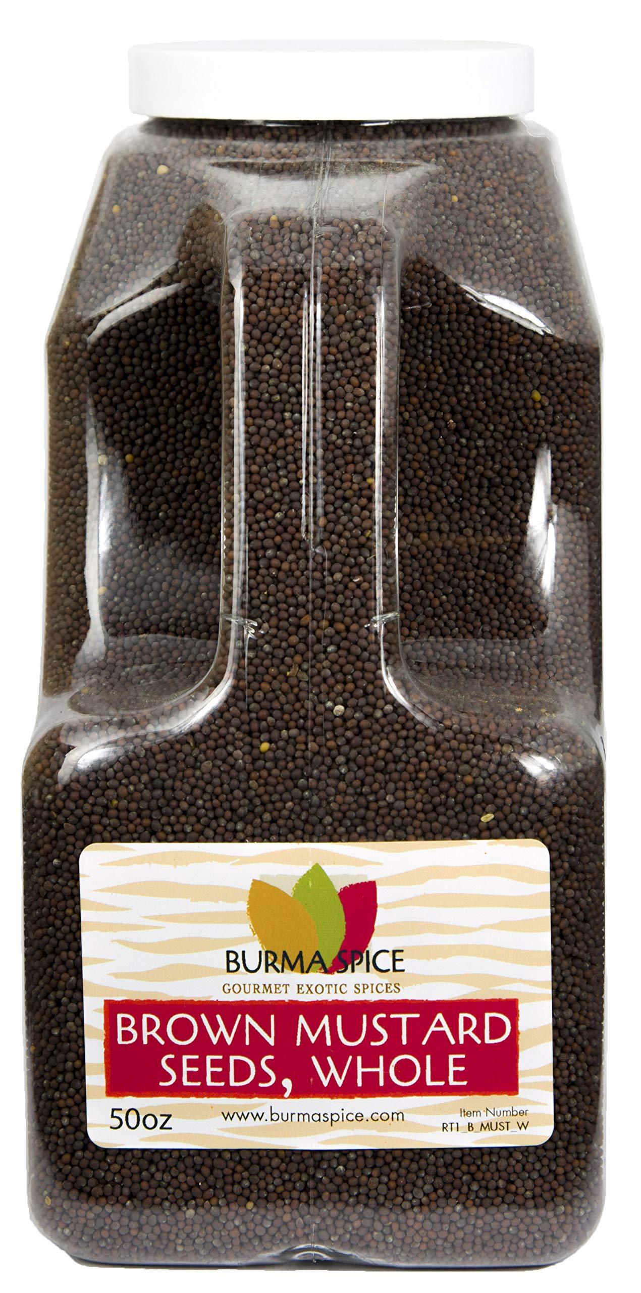 Brown Mustard Seed, Whole : Indian Mustard Kosher (50oz.)