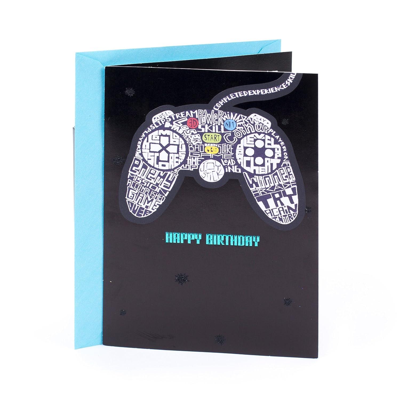Amazon Hallmark Birthday Greeting Card For Him Video Games