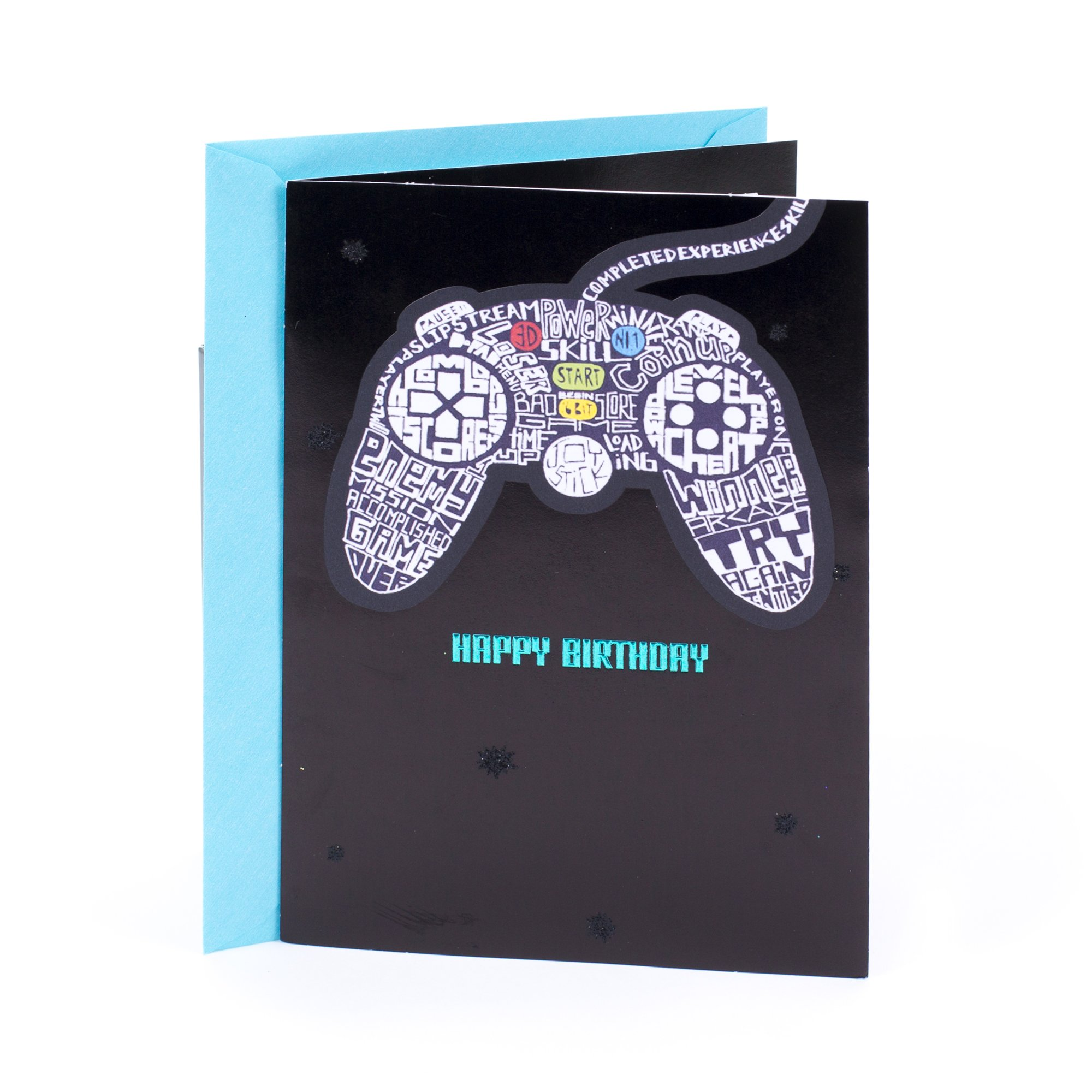 Hallmark Birthday Greeting Card For Him Video Games Level Up