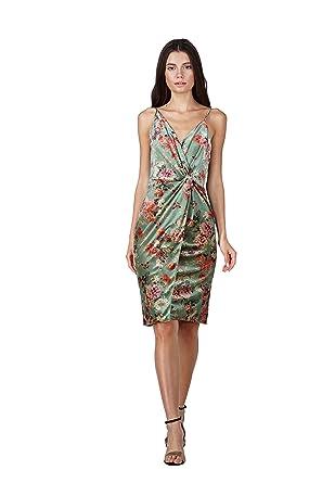 789d45c1 Amazon.com: Adelyn Rae Women's Adela Knit Velvet Sheath Dress: Clothing