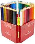 Lápis de Cor Ecolápis Aquarelável 60 Cores, Faber-Castell