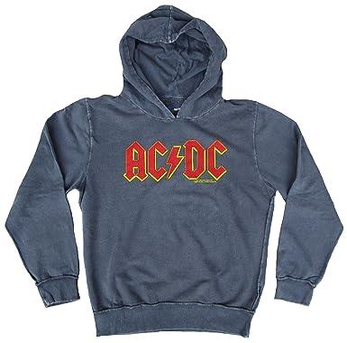 Amplified Herren Sweatshirt Hoodie Sweater Grau Official AC