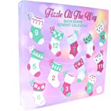 "Spa life""Fizzle All The Way Bath Bomb Advent Calendar"