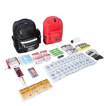 Amazon.com: Juego de suministros de primeros auxilios para 4 ...