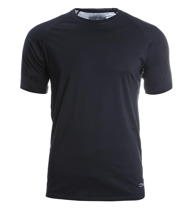 Engel Sports Herren Shirt kurzarm, GOTS - Regular Fit - schwarz XL