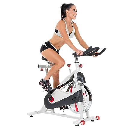 d7a9fe1ee34 Sunny Health   Fitness Belt Drive Premium Indoor Cycling Bike