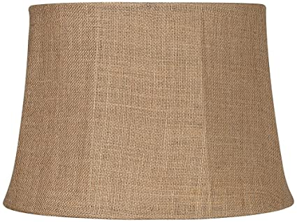 Natural burlap large drum lamp shade 13x16x11 spider amazon natural burlap large drum lamp shade 13x16x11 spider aloadofball Image collections