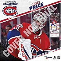 Montreal Canadiens Carey Price - Bilingual French.English 2019 12x12 Player Wall Calendar (English and French Edition)