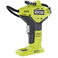Ryobi Portable Power Inflator for Tires [NEW DIGITAL GAUGE] [18-Volt] [Cordless] [ONE+ Battery system] [P737D] (Battery…