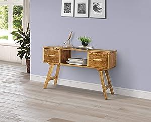 4D Concepts Java Desk, Rustic Natural