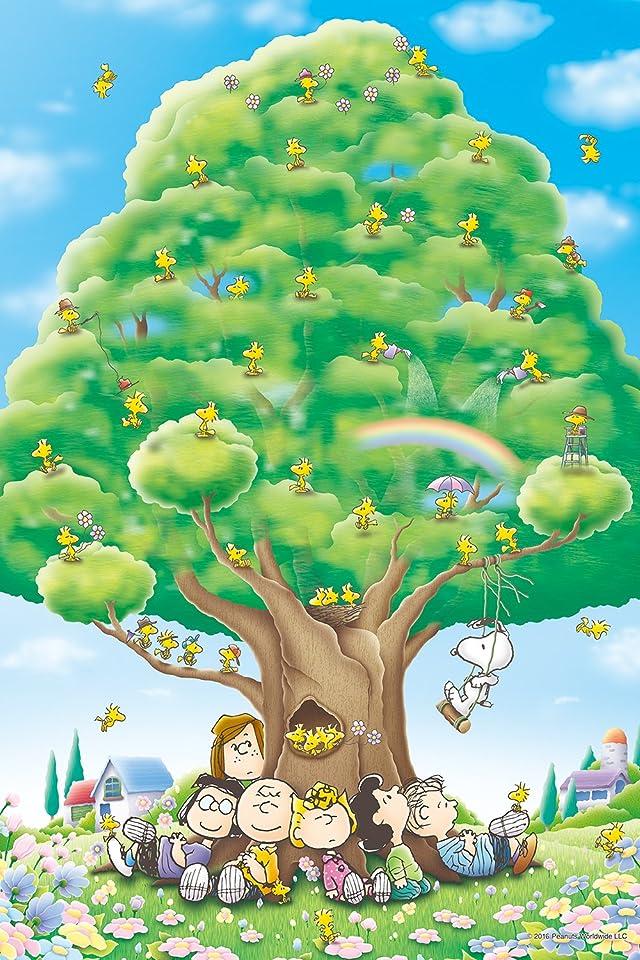 スヌーピー PEANUTS 大きな樹 iPhone(640×960)壁紙 画像59832 スマポ
