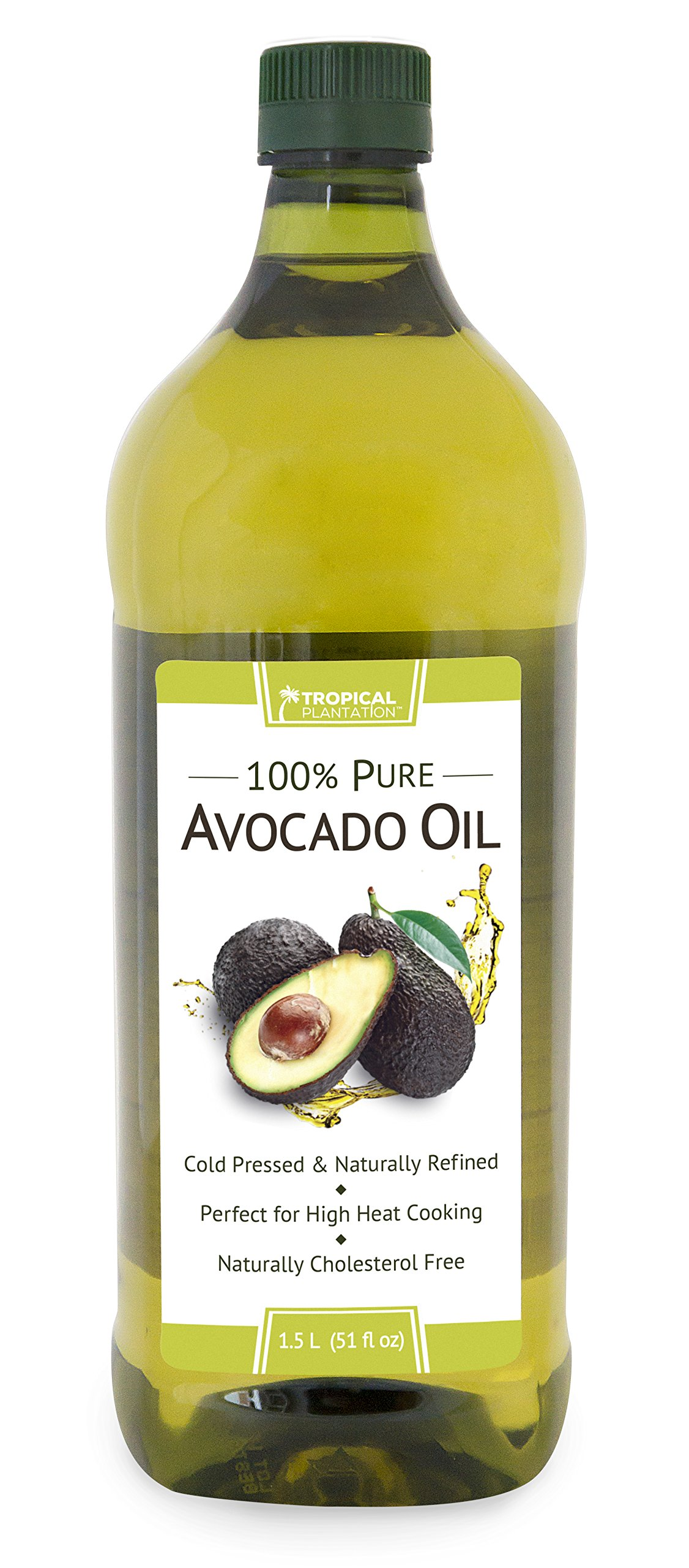 Tropical Plantation 51oz 100% Pure Avocado Cooking Oil by Lily of the Desert
