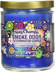 Smoke Odor Exterminator 13 Oz Jar Candle Nag Champa