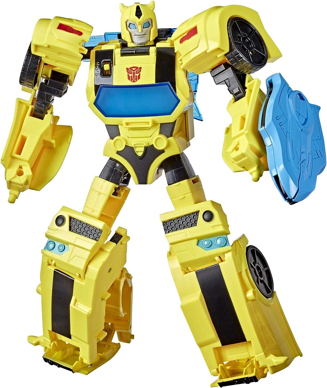 Transformers E8381 Bumblebee Cyberverse Adventures Battle Call  Officer-Klasse Bumblebee, stimmenaktivierte Lichter und Sounds: Amazon.de:  Spielzeug