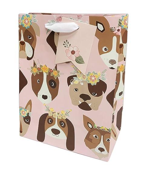 Amazon.com: Whimsical – Bolsa de regalo para perros, diseño ...
