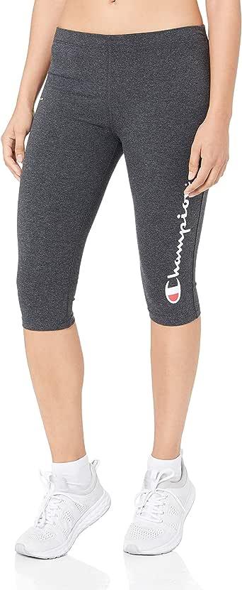 Champion Women's Essential Knee Capri Leggings