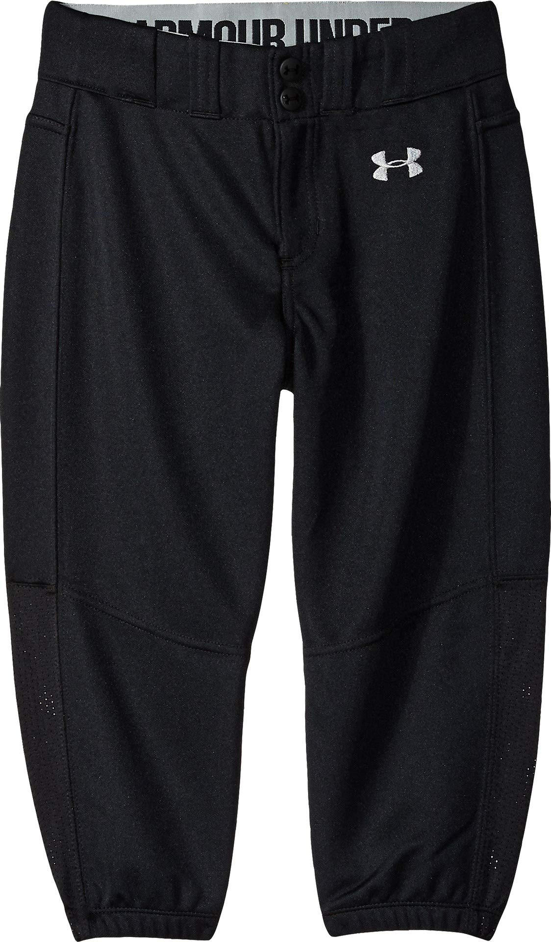 Under Armour Girls Softball Pants, Black, Youth X-Large by Under Armour