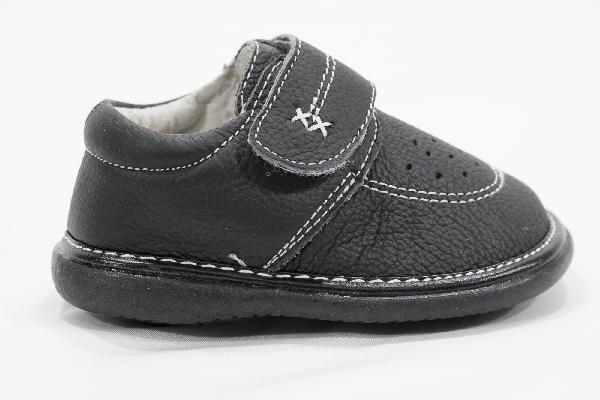 Anderson Baby Care LLC Squeaky Shoes for Toddler Boys (4T, Black Loafer) by Anderson Baby Care LLC (Image #7)