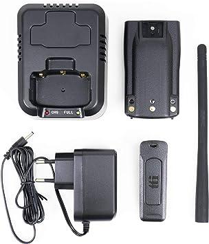 Tti H100 Zubehörsatz Mit 2600 Mah Batterie Für Tragbares Cb Radio Tcb H100 Navigation