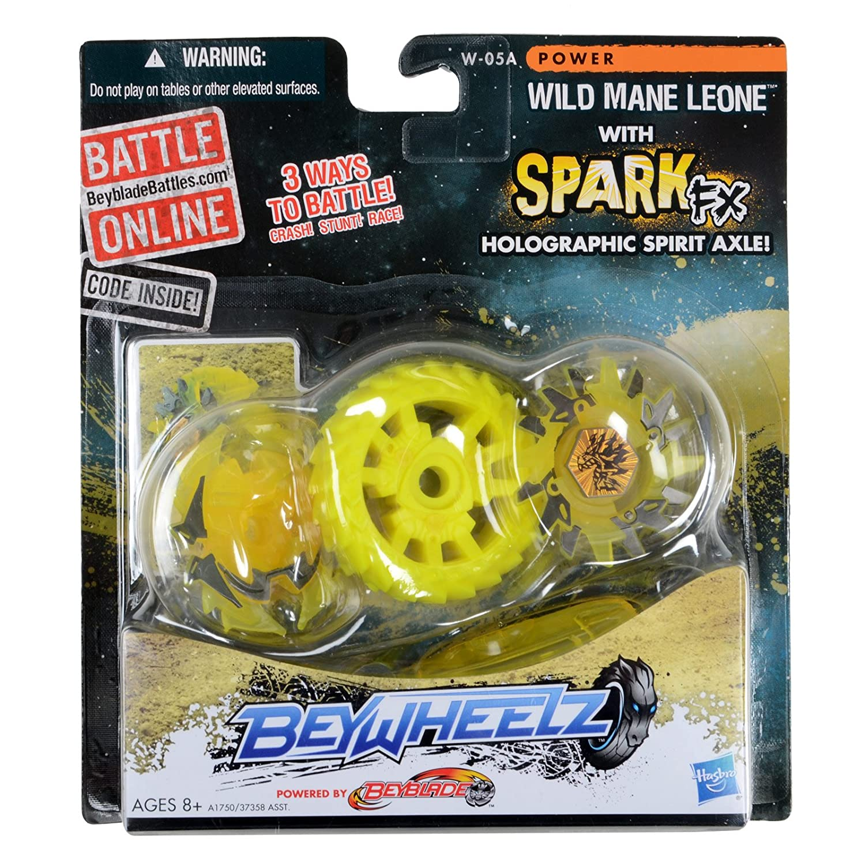 BEYBLADE Beywheelz W-05A Wild Mane Leone Battler