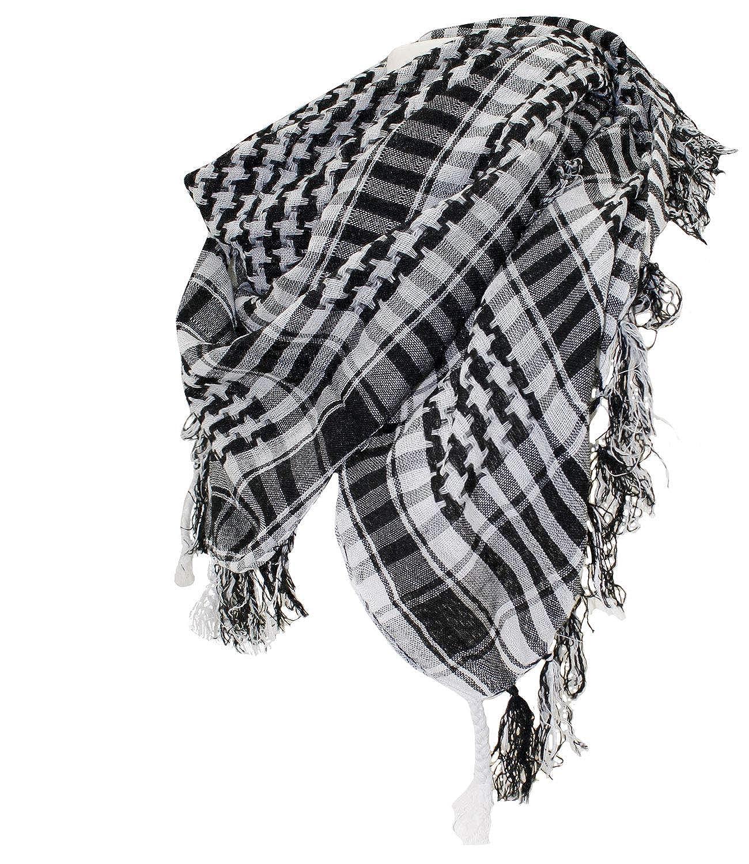 EveryHead Fazzoletti Da Donna Foulard Sciarpa Palestinese Scialle Avvolgente Panno Di Estate Avvolgere Fantasia Per Donne (PT-7059-S17-DA1) incl Hutfibel