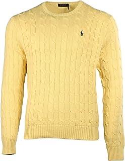 Polo Ralph Lauren Men\u0027s Pony Cable Knit Crewneck Sweater