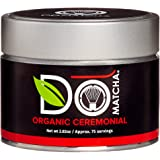 DoMatcha - Organic Ceremonial Matcha Powder, Authentic Japanese Green Tea Rich with Antioxidants and L-Theanine, 75 Servings (2.82 oz)