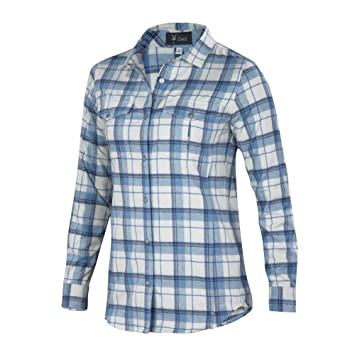 Amazon.com: Ibex Taos Plaid Shirt - Women's: Sports & Outdoors