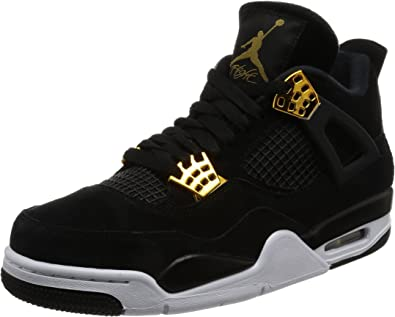 air jordan 4 retro noir jaune
