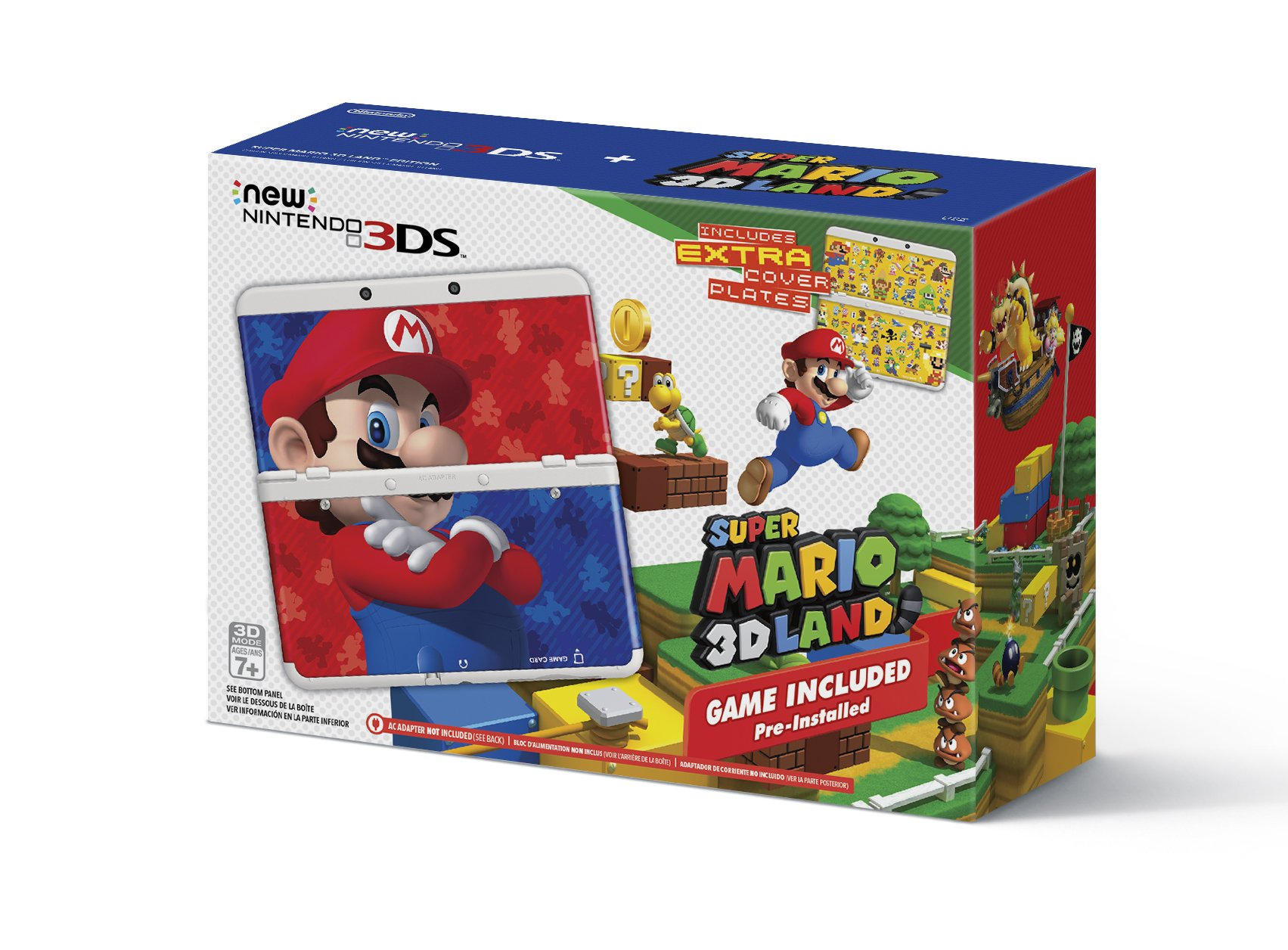 Nintendo 3ds Mario Games : New nintendo ds super mario d land edition